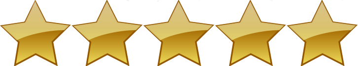 Výsledek obrázku pro five stars rating png