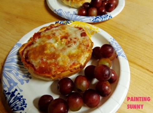 Bagel Pizzas 4