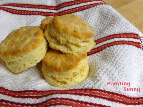 Buttery Biscuits | Painting Sunny