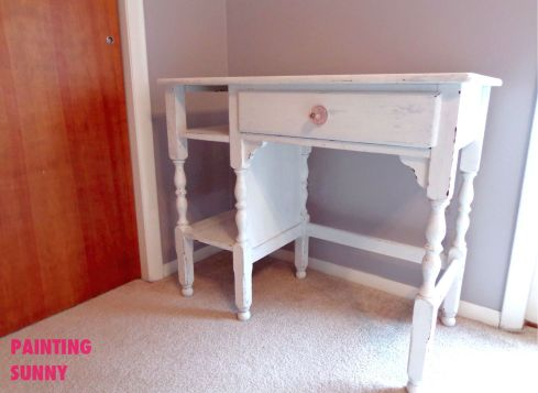Vintage Children's Desk Refinished | by Painting Sunny