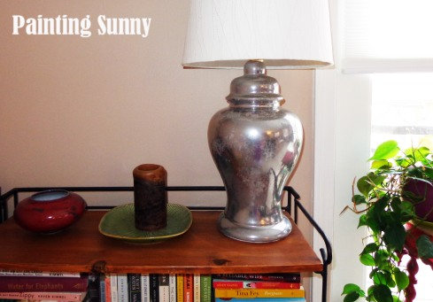 "DIY ""Mercury Glass"" Lamps using Looking Glass Spray Paint 