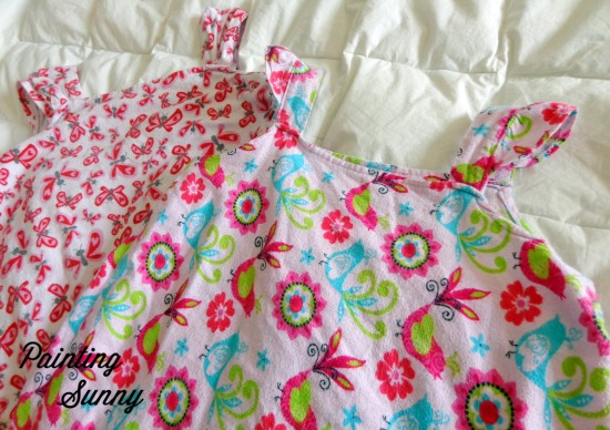 Children's Nightgown, No Pattern Sewing | Painting Sunny