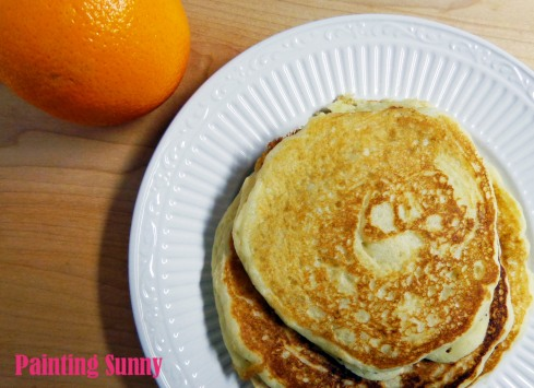 Bestest Ever Perfect Pancakes | Painting Sunny