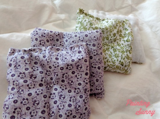 Sewn Lavender Sachets | Painting Sunny