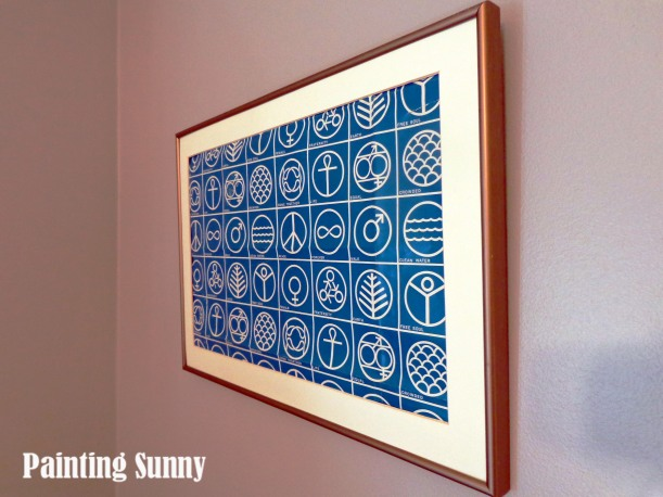 Vintage Wrapping Paper Art | Painting Sunny