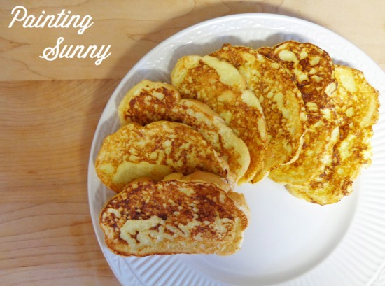 Oh La La... Buttermilk French Toast | Painting Sunny