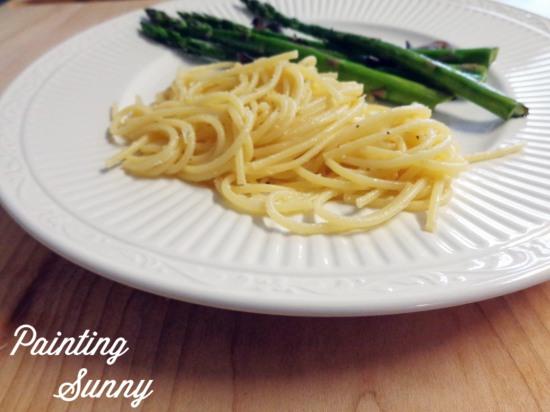 Lemony Spaghetti | Painting Sunny