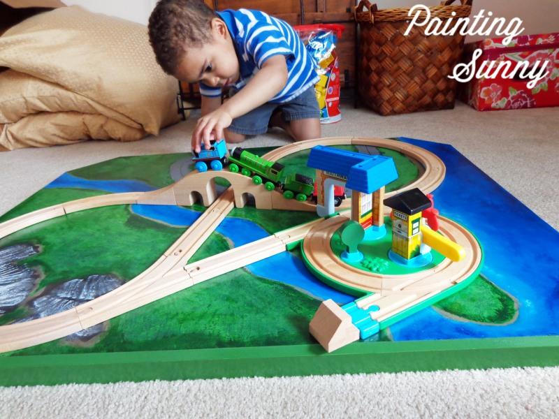 Wooden Train Patterns