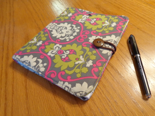 DIY Sewn Office Planner Cover | Painting Sunny