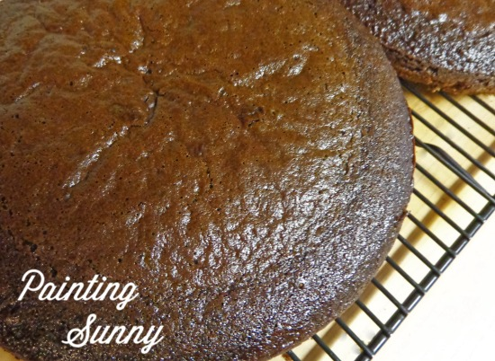 Quintessential Chocolate Cake | Painting Sunny