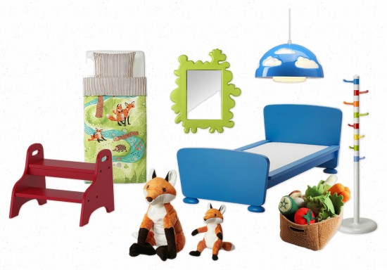 Bright and Cuddly Ikea Dream Children's Room | Painting Sunny