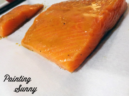 Our Favorite Ginger Dijon Salmon | Painting Sunny