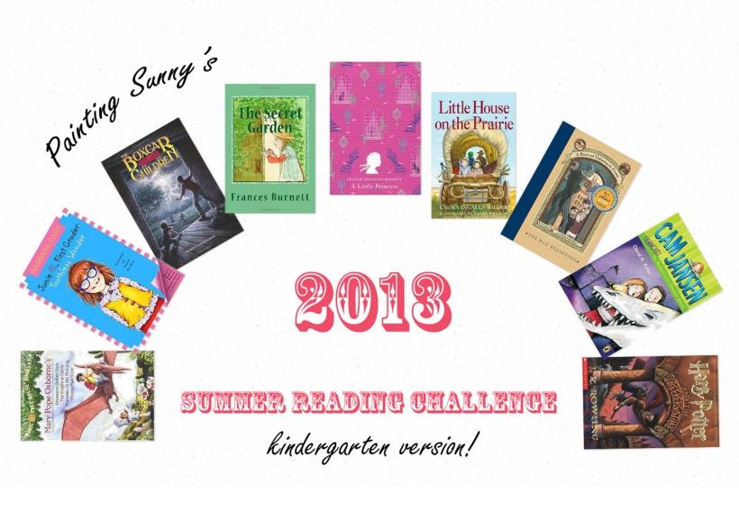 Summer Reading Challenge, Kindergarten Version! | Painting Sunny