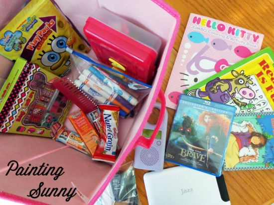 Road Trip Busy Boxes - Kid Travel | Painting Sunny