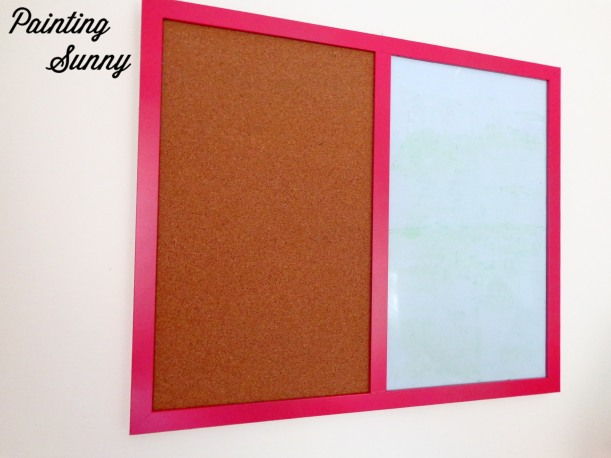 Little Pink Whiteboard Project | Painting Sunny
