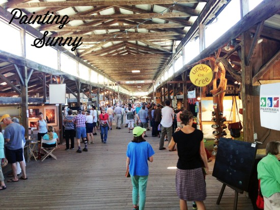 Ithaca Art Market Summer 2013 | Painting Sunny