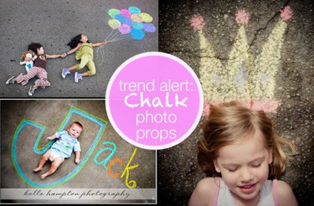 Modern Parents Messy Kids Chalk Photo Props | Painting Sunny PIN FAILED this